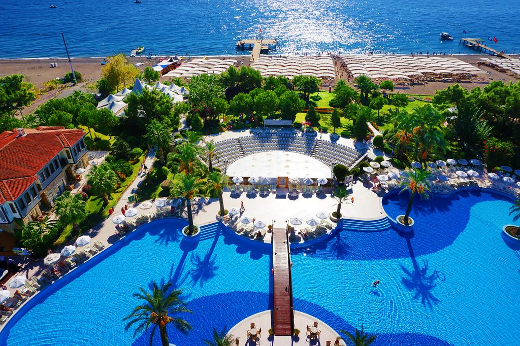 Queen's Park Tekirova Resort & Spa, Кемер, фотографії турів
