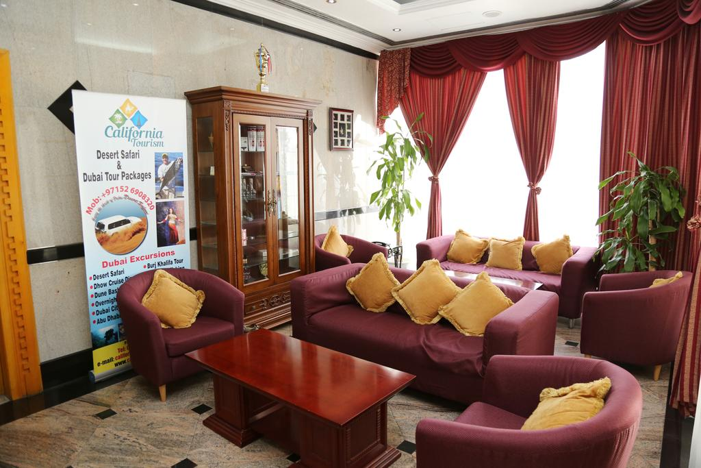 California Hotel, Дубай (город), ОАЭ, фотографии туров