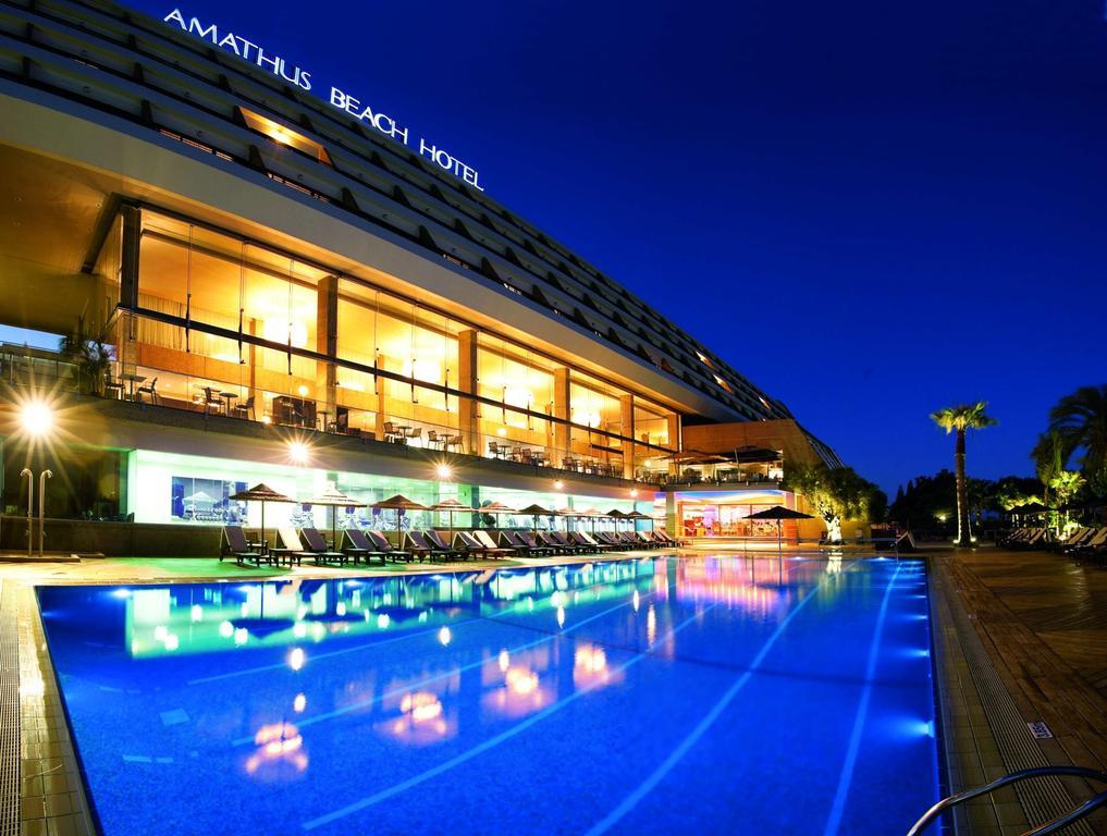Отдых в отеле Amathus Beach Hotel