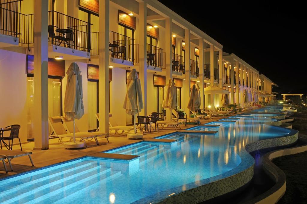 Відпочинок в готелі Jiva Beach Resort Фетхіє Туреччина