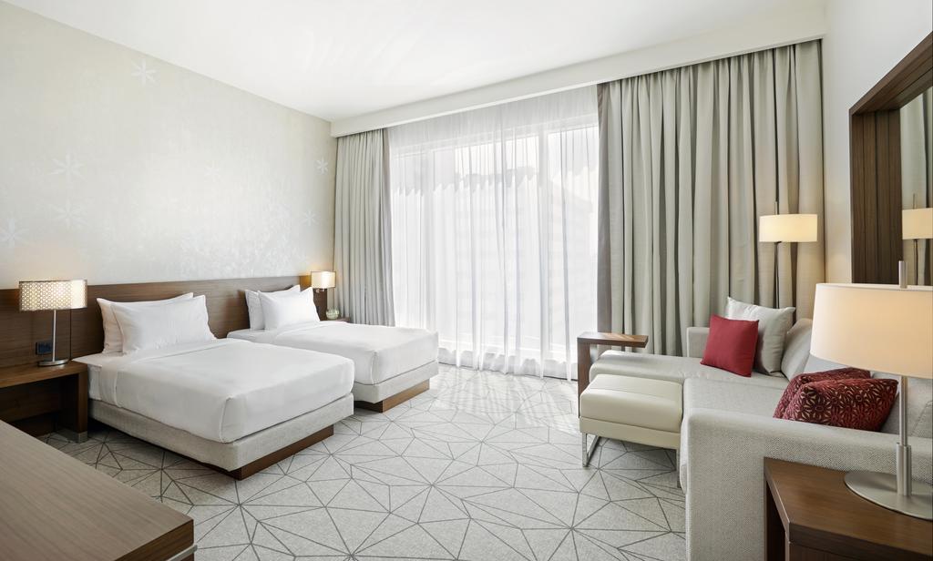 Отдых в отеле Hyatt Place Dubai Jumeirah Дубай (город)