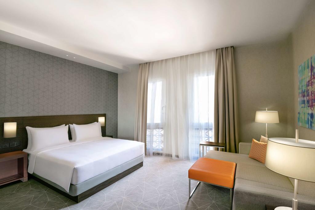 Отдых в отеле Hyatt Place Dubai Wasl District. Дубай (город)