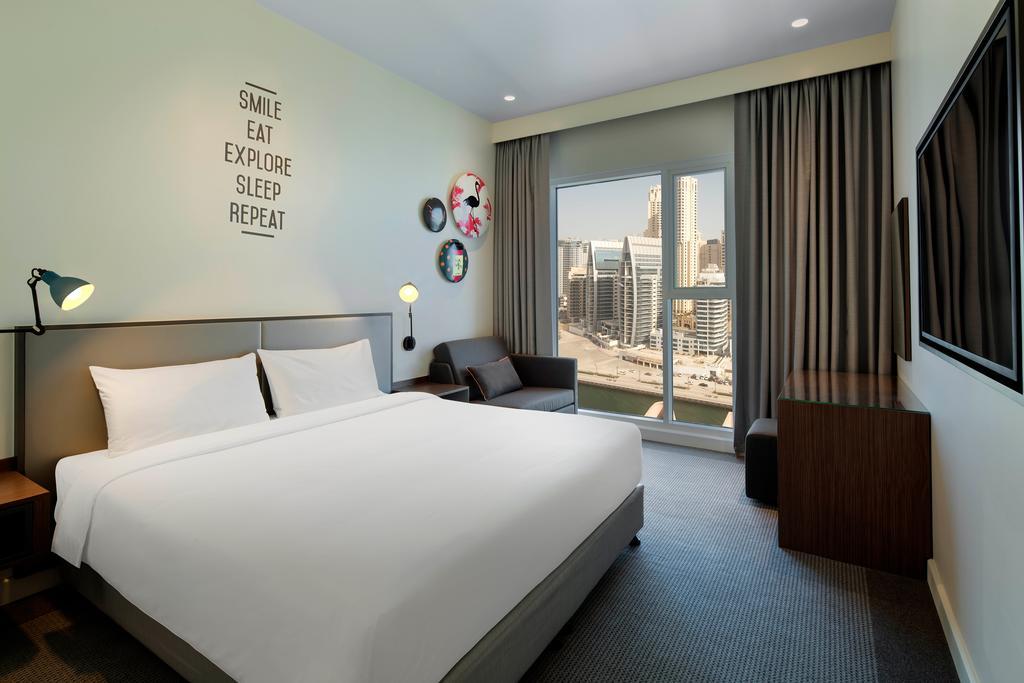 Отдых в отеле Rove Dubai Marina Дубай (пляжные отели)