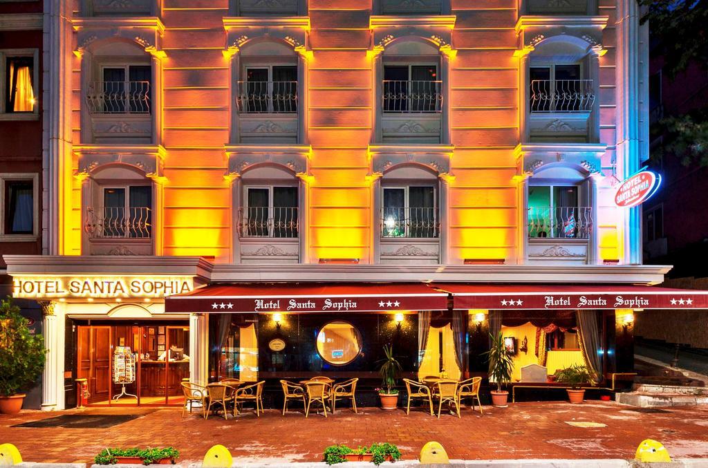 Santa Sophia Hotel, Стамбул, фотографии туров