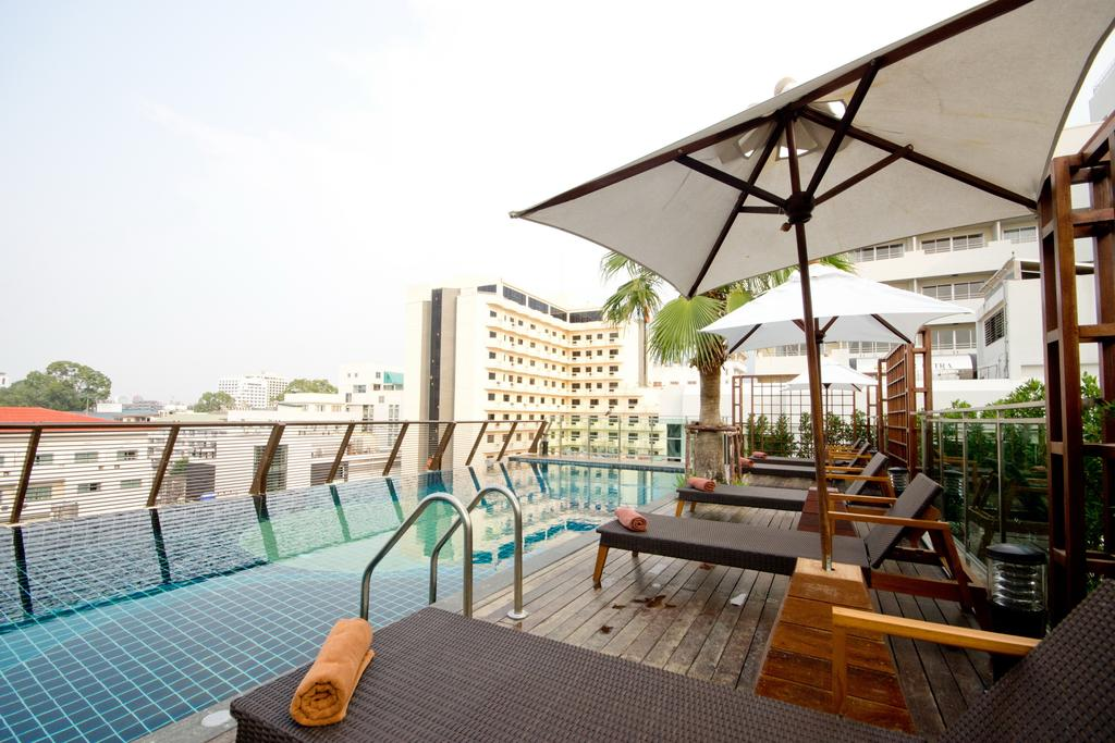 Отель, Sunshine Hotel & Residence