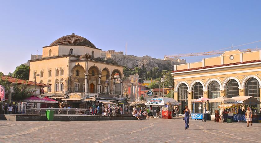Athens Center Square фото туристов