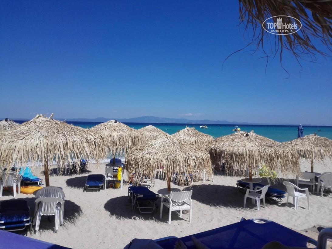 Villa George Hotel Apartments, Кассандра, фотограції пляжу