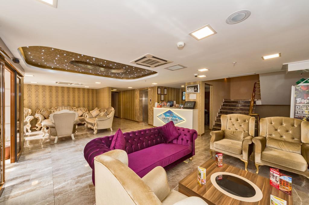 Отдых в отеле Grand Pamir Hotel Стамбул