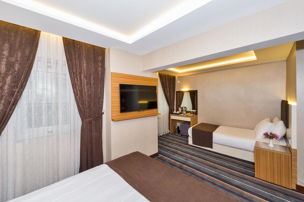 Отдых в отеле Bergama Hotel Стамбул