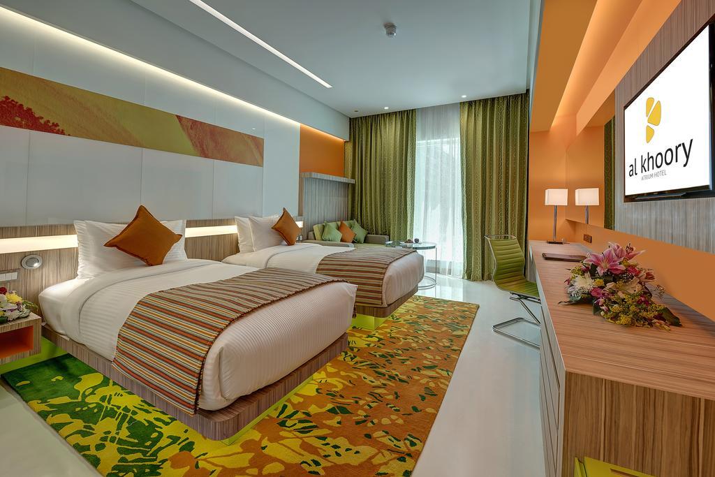 Отель, Дубай (город), ОАЭ, Al Khoory Atrium Hotel