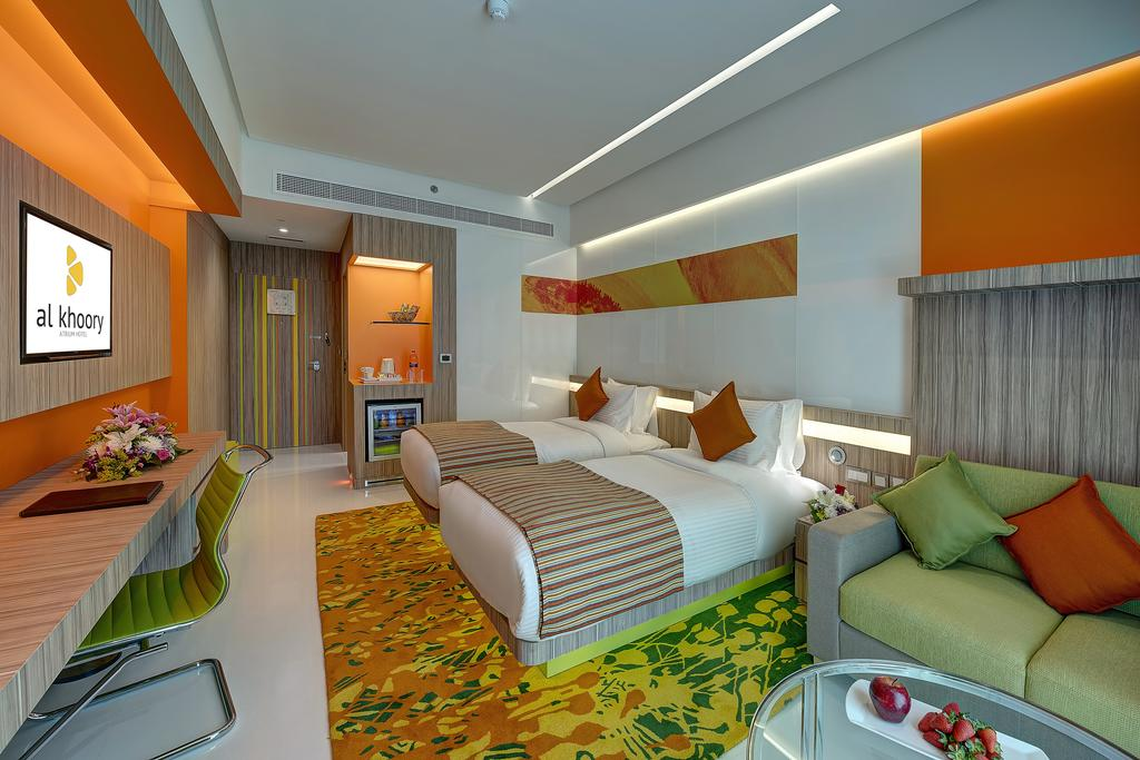 Дубай (город) Al Khoory Atrium Hotel