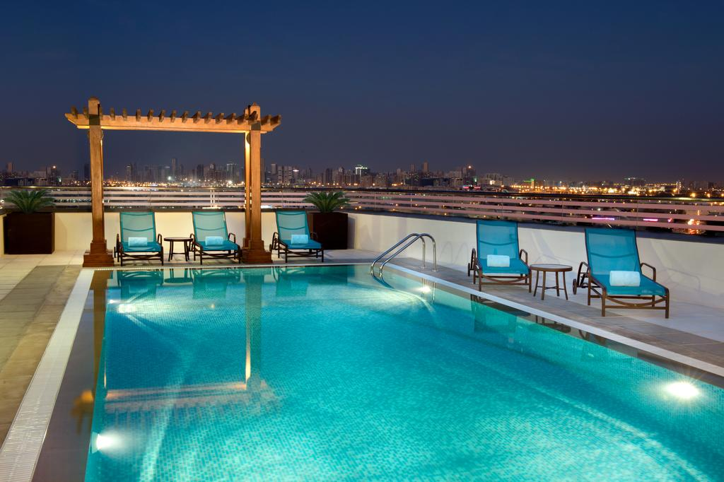 Hilton Garden Inn Dubai Al Muraqabat, 4, фотографии